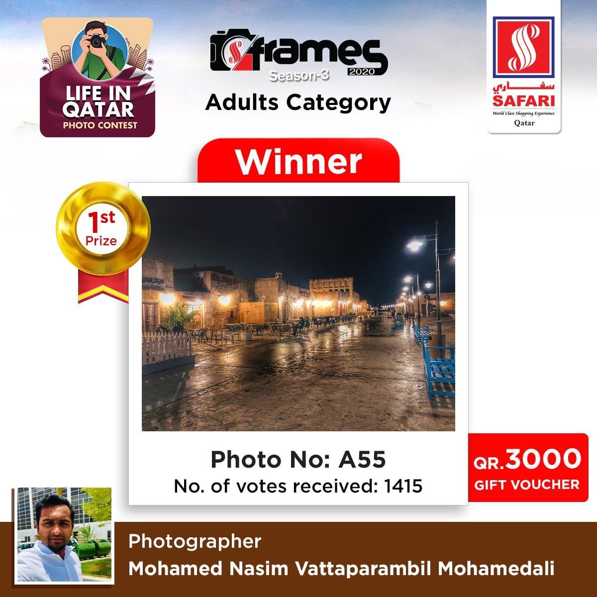 photography winner